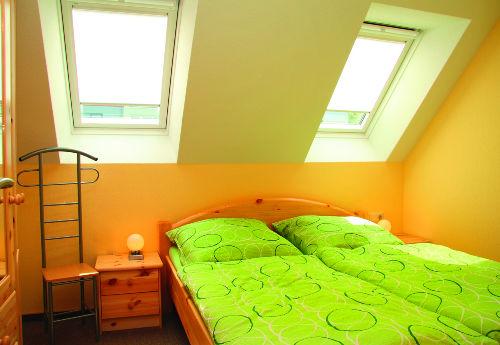 jede Fe-Wohnung hat 2 Schlafzimmer