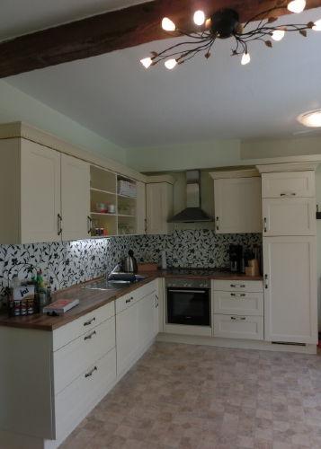 Landhausküche im Erdgeschoss