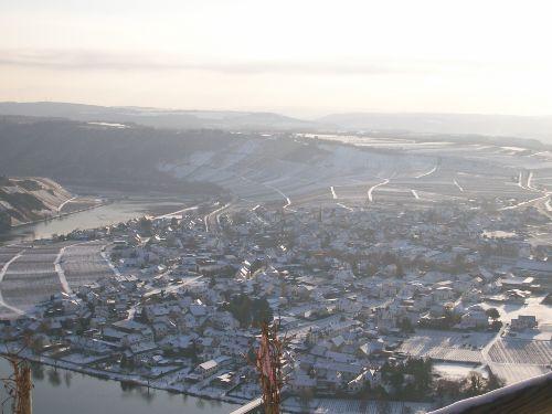 Winterbild Piesport