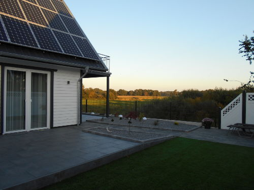 Gartenansicht Sonnenterrasse
