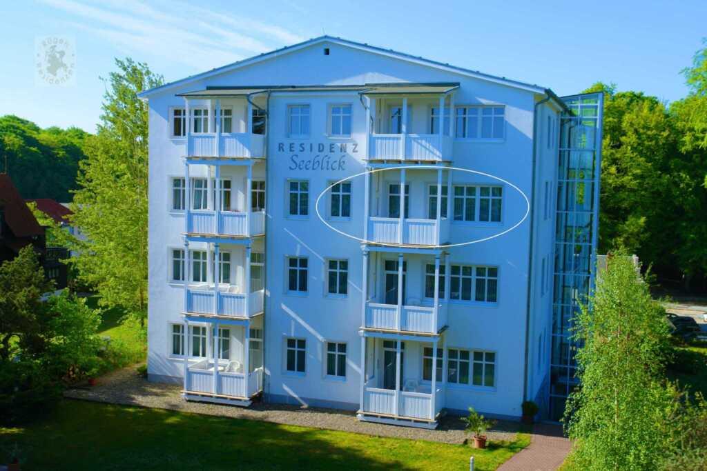 Residenz Seeblick 17, 3 Raum- Balkon mit Seeblick