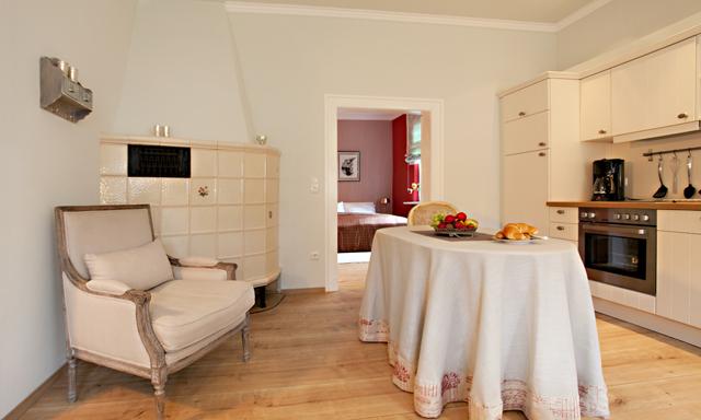 Ferienwohnungen Töpfer Hof, Appartement zum Hagen