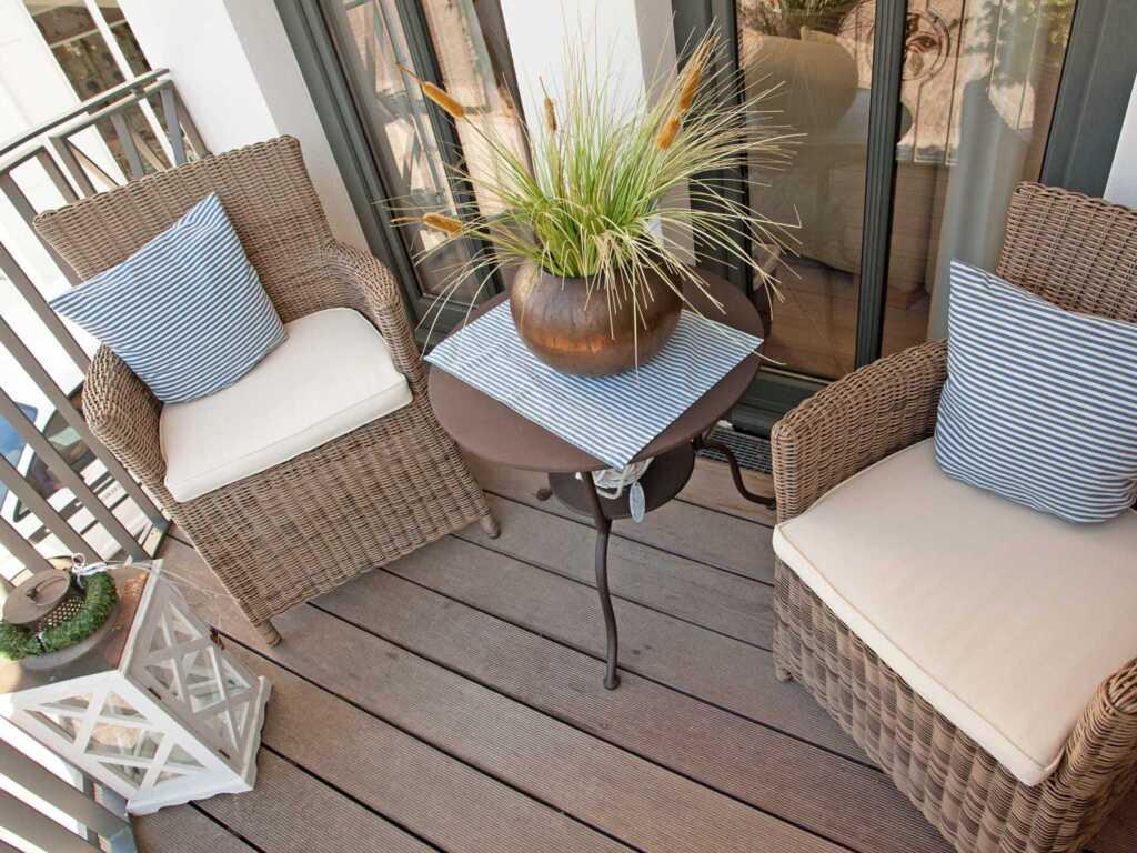 Villa Paula F501 WG 01 'Findling'mit Balkon + Auss