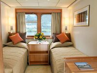 Hotelkabinenschiff, Doppelkabine 104 in Lutherstadt Wittenberg - kleines Detailbild