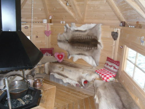 Finnische Grillkota Solling-Lounge