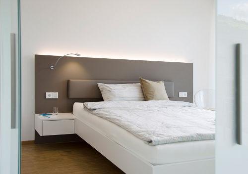 Schwebendes Doppelbett 160x210