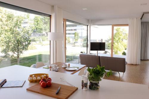 Blick Küche-Wohnzimmer Ap. 7
