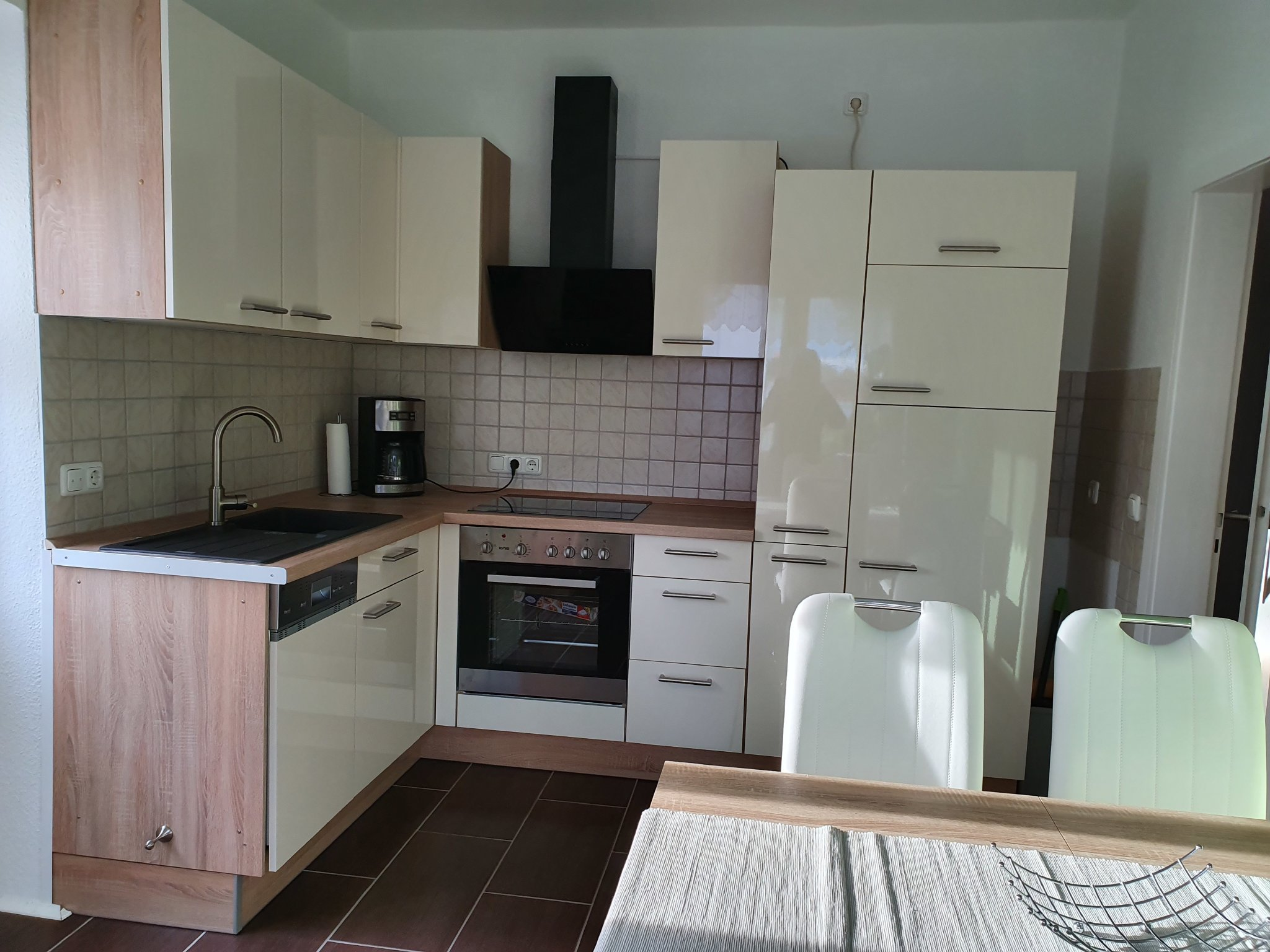 Küche Ferienwohnung Lindenheim