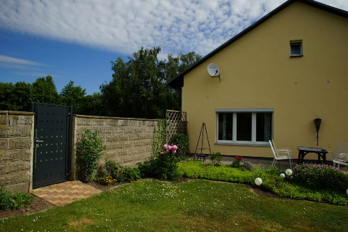 Gartenbereich Fewo Lindenheim