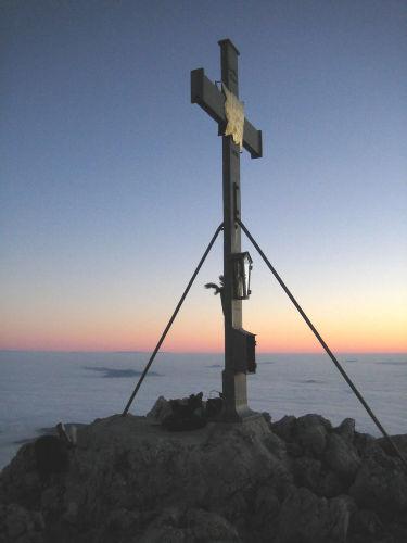 Hochstaufen Gipfelkreuz