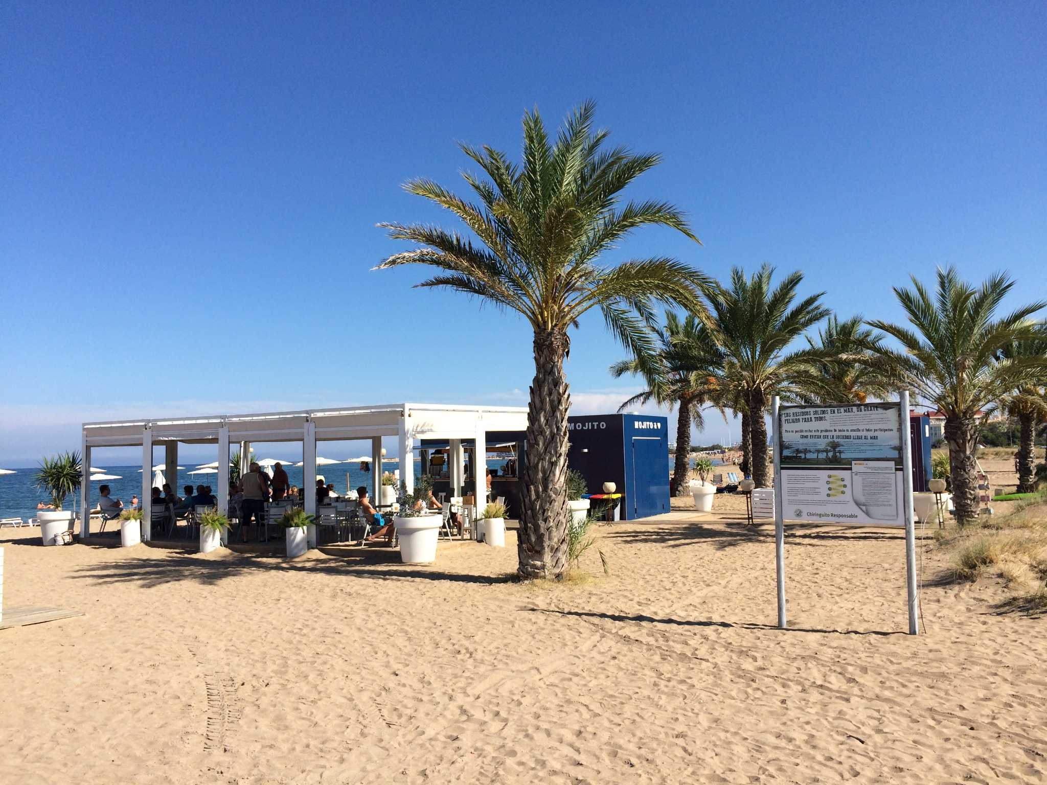Strandbar am Playa El Raset