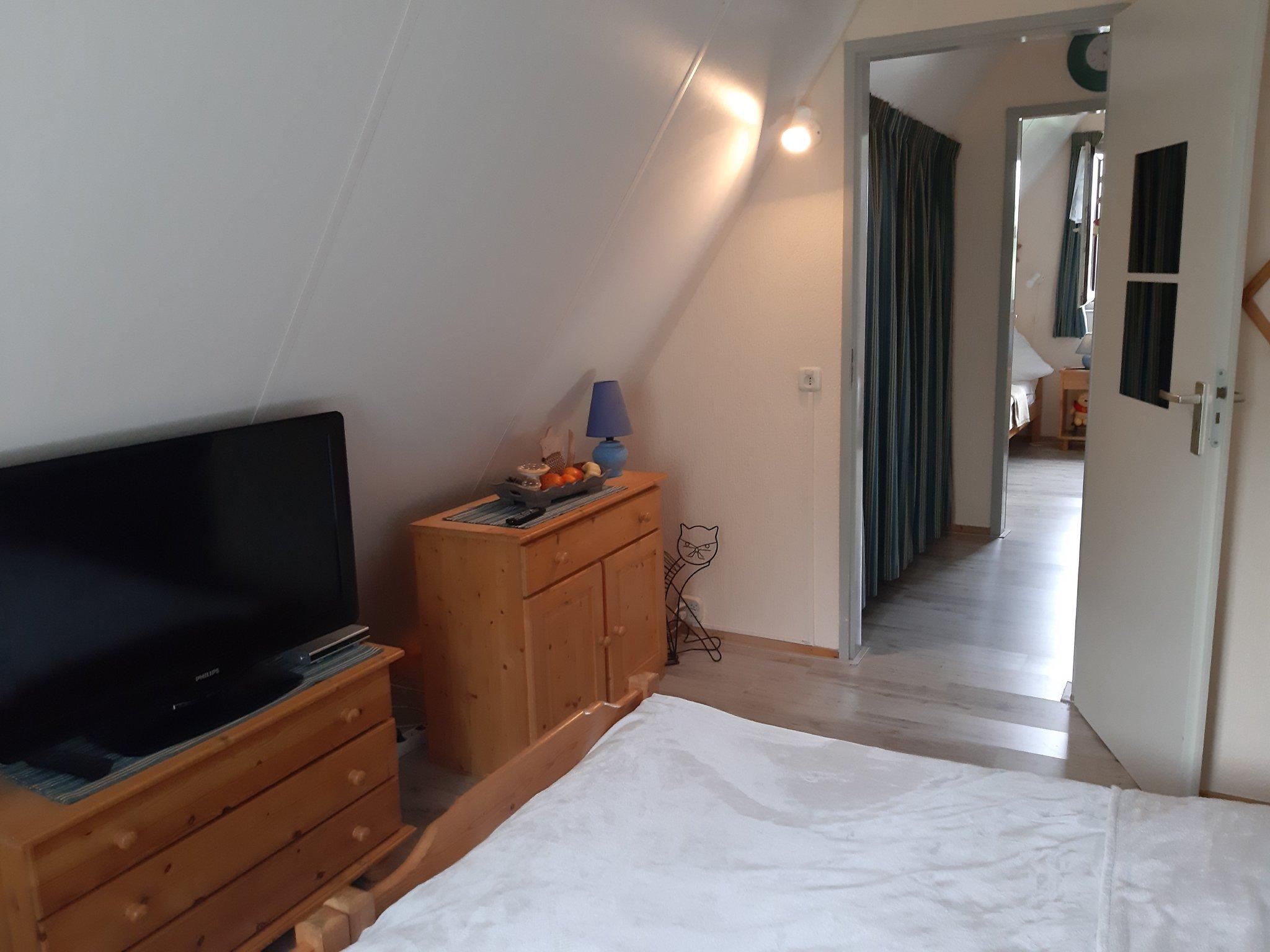 Wohn/Eßzimmer mit Zugang zum Garten