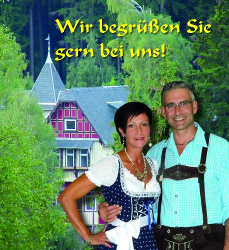 Wir begrüßen Sie gern, Birgit & Manfred