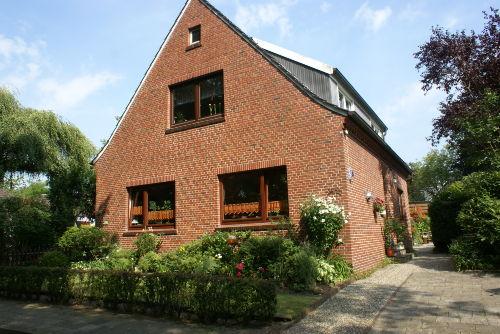 Ferienhaus Gr��ing Eingang Anne