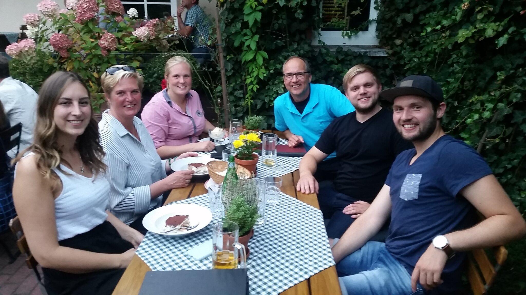 Christian, Ulrike, Finn u. Analisa Lüth