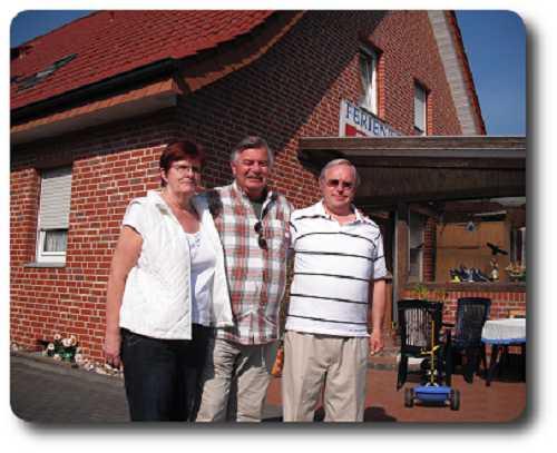 Hermann und Maria mit Harry Wijnvoord