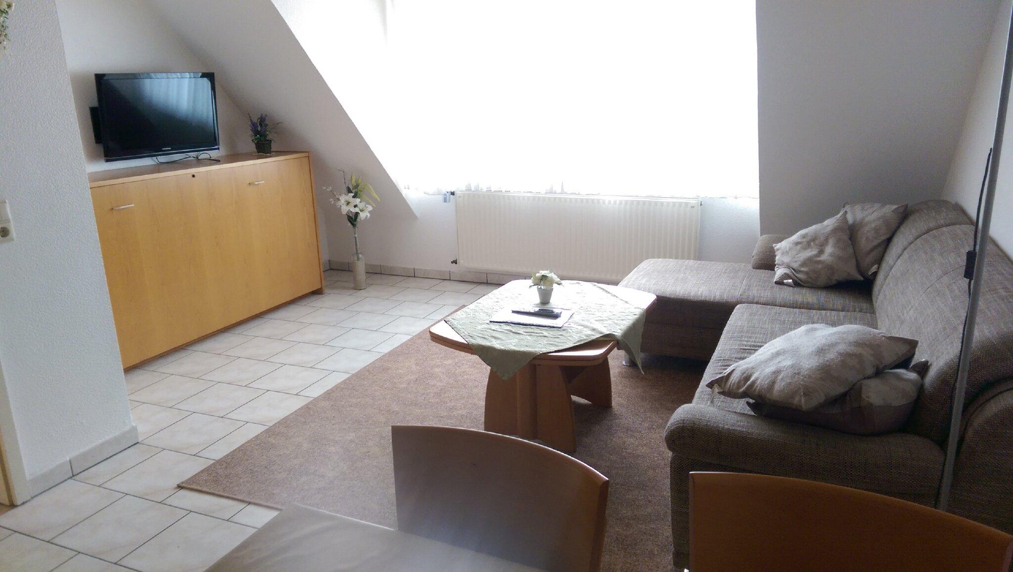 Fewo Olli: Wohnzimmer