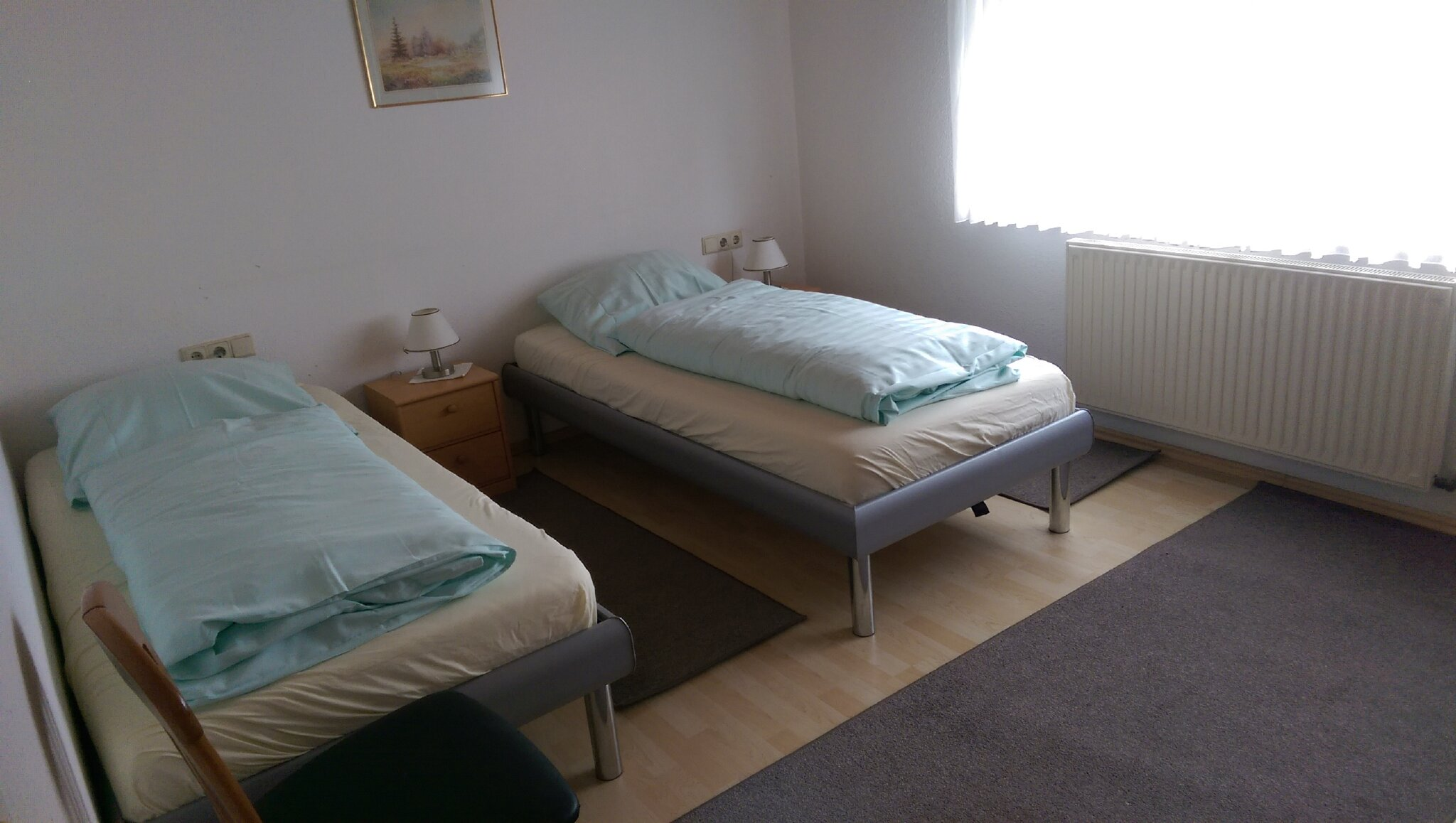 Fewo Olli: Schlafzimmer