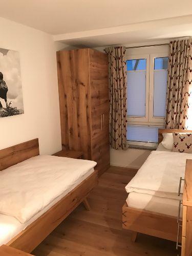 Blick in das 2. Schlafzimmer