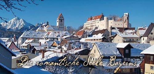 """Füssen im Winter - """"Beim Bergfreund"""""""
