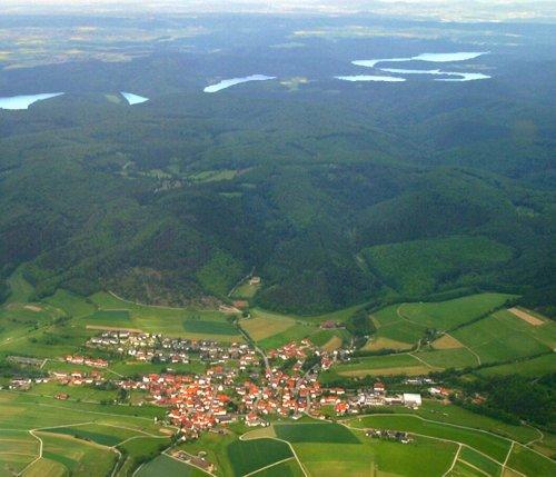 Altenlotheim vor Nationalpark u. Edersee