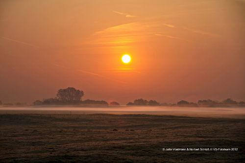 Sonnenaufgang in den D�nen