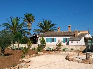 Finca Palmera - Haupthaus in Ses Covetes - Spanien - kleines Detailbild