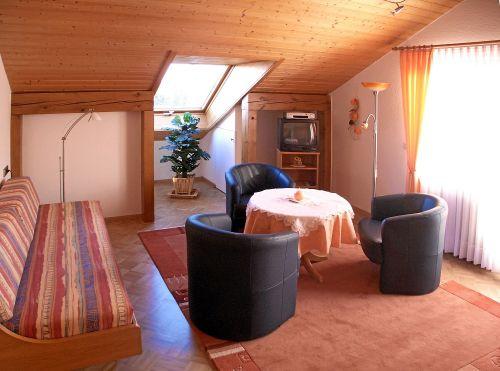 Ferienwohnung 6, Wohnzimmer