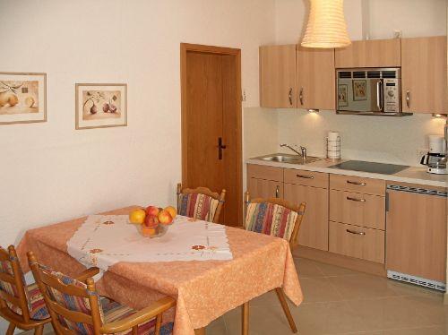 Ferienwohnung 6, Küche mit Extras