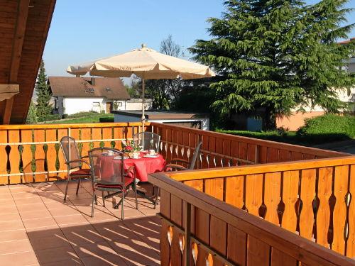 Ferienwohnung 6, Terrasse