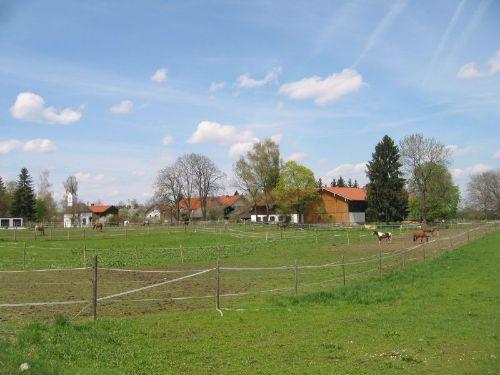 Ortsrand von Ilching