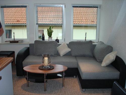 DG-Wohnung mit zwei Schlafzimmer