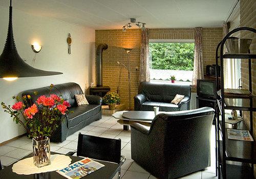 Wohnzimmer Ferienhaus Texel