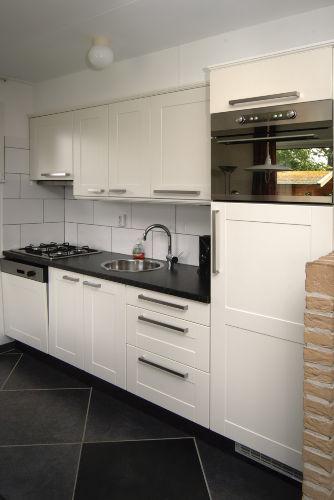 Neue Küche der Ferienhäuser Texel