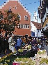 Samstagsmarkt in Ravensburg