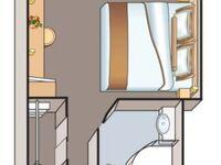 Hotelkabinenschiff, Suite 201 in Lutherstadt Wittenberg - kleines Detailbild