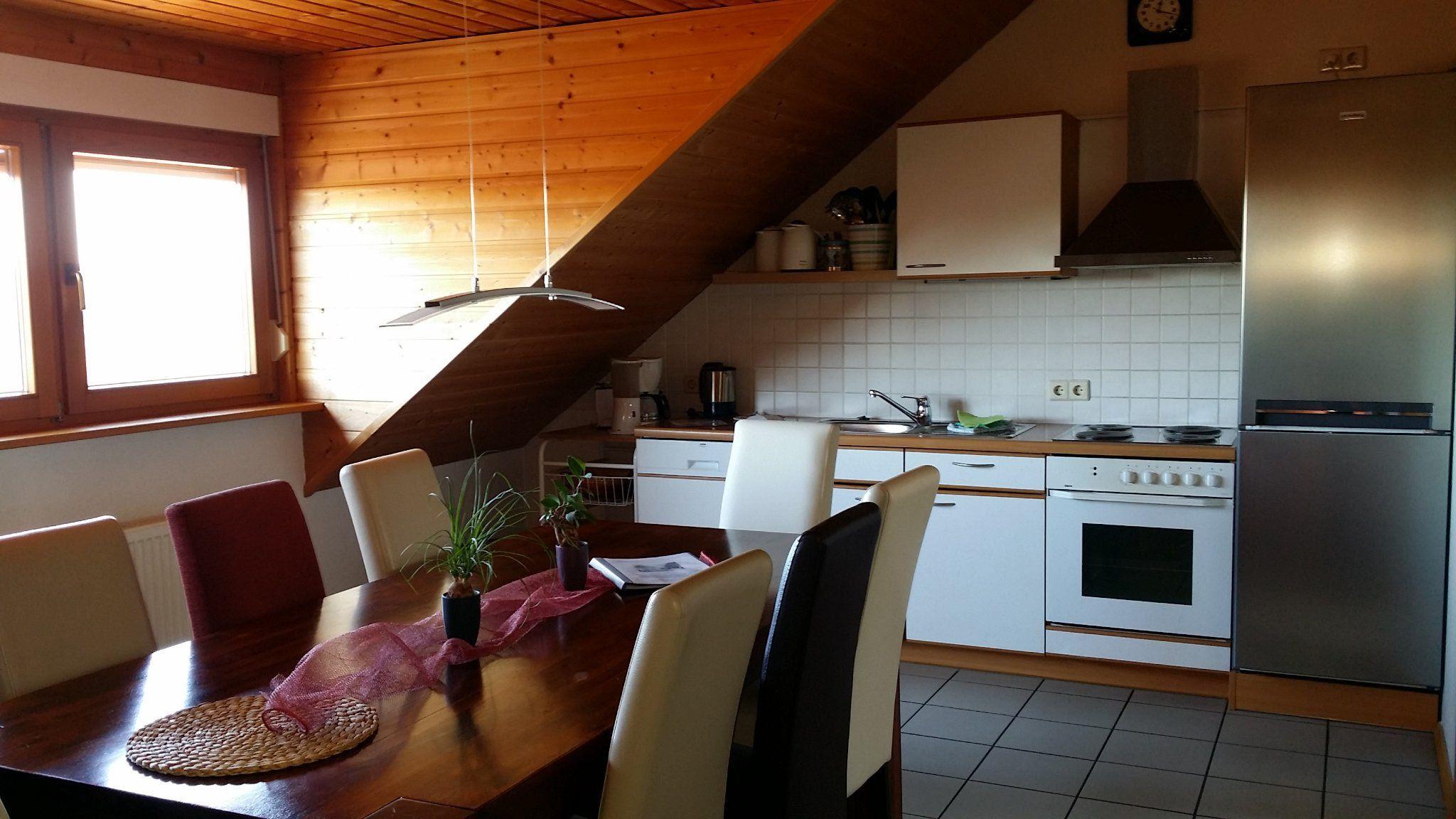 Innenhof mit Wohnung 4