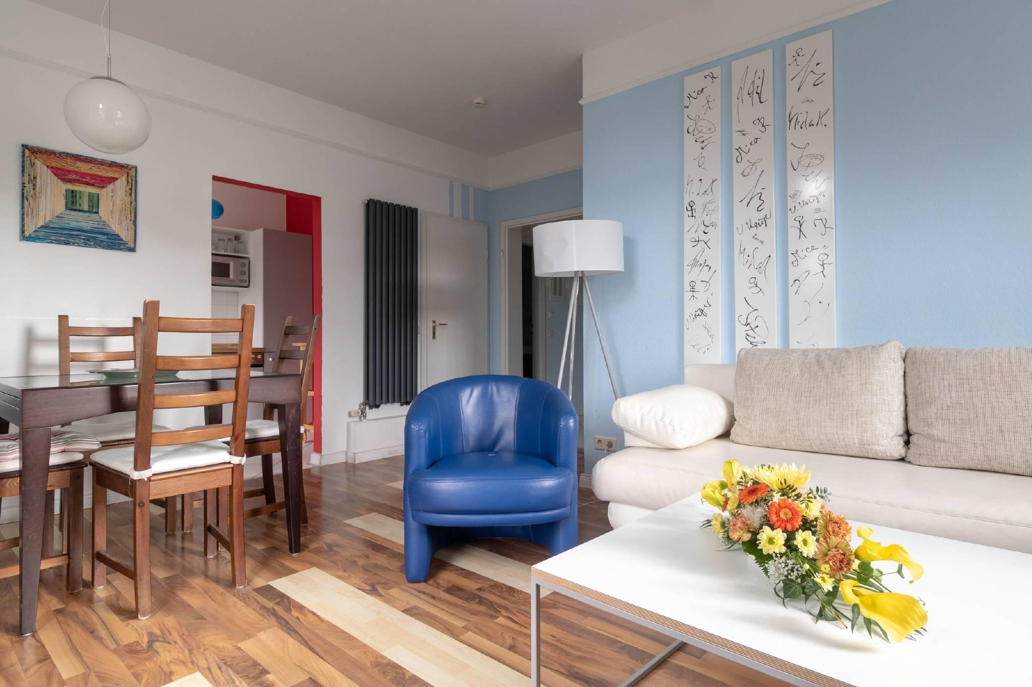 1. Schlafzimmer Typ 3 mit Kleiderschrank