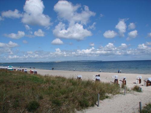 kostenloser Strandkorb am von Mai - Sept