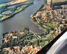 Luftaufnahme von Mirow