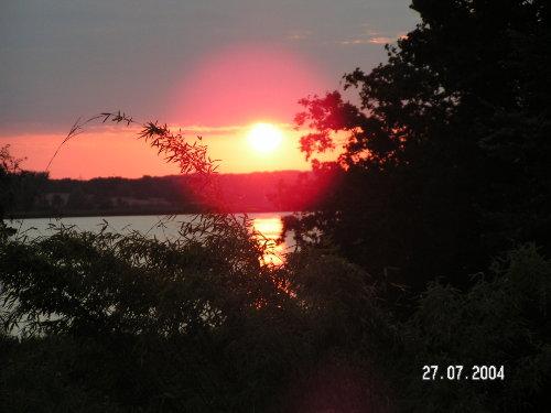 Sonnenuntergang am Fahrlander See