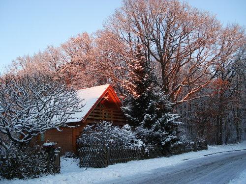 Wintersonnenaufgang