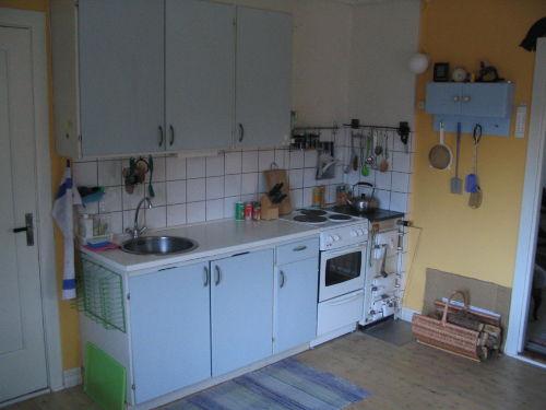 Sitz- und Essbereich in der Küche