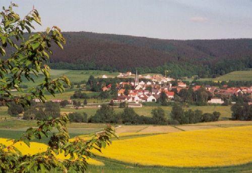 Der Blick auf Neukirchen