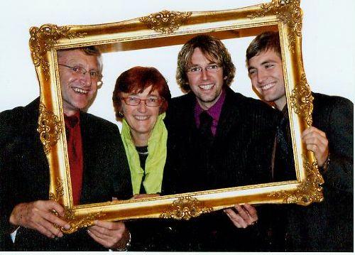 Die Familie Wörndl vom Haunehof