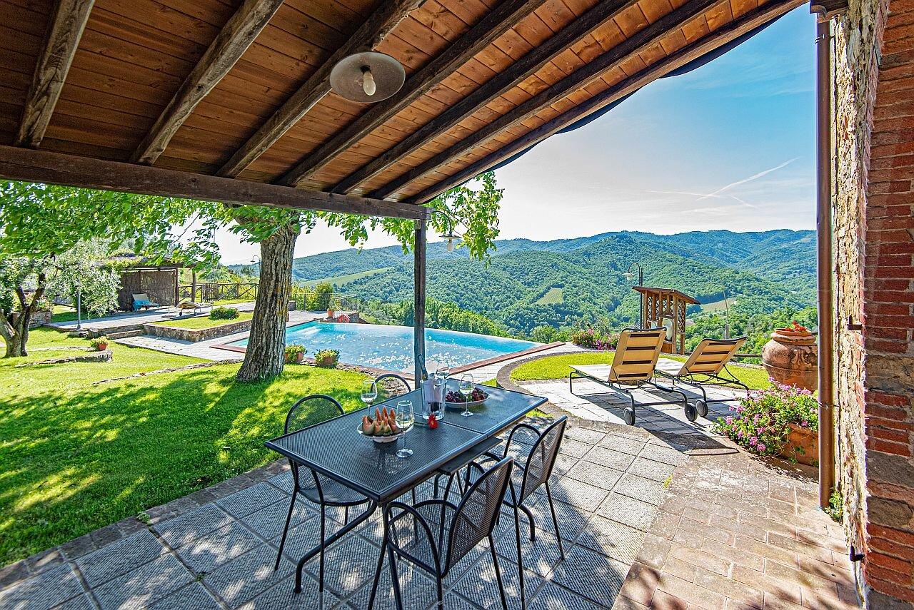 private Terrasse und Sonnenterrasse