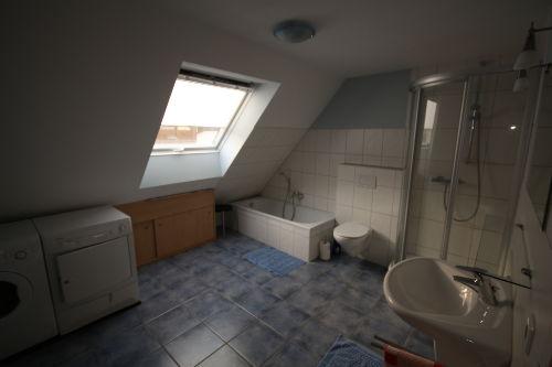 Unser Bad mit Fußbodenheizung