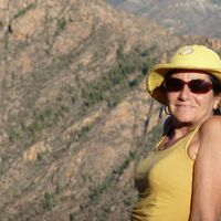 Vermieter: Pia in der typischen Bergweld G. Canaria