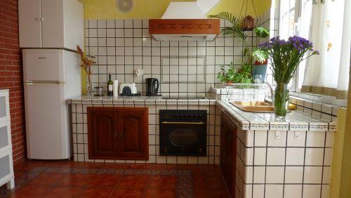 Unsere moderne helle Küche