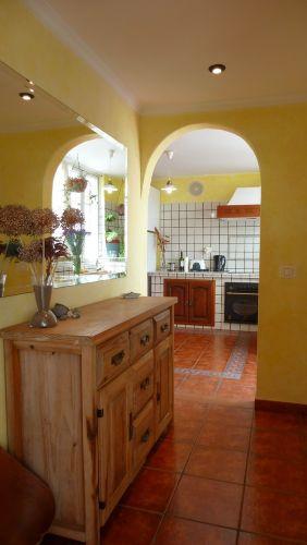 Durchgang zwischen Wohnzimmer und Küche